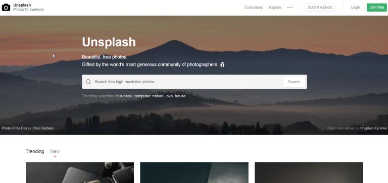 Unsplash photos for everyone