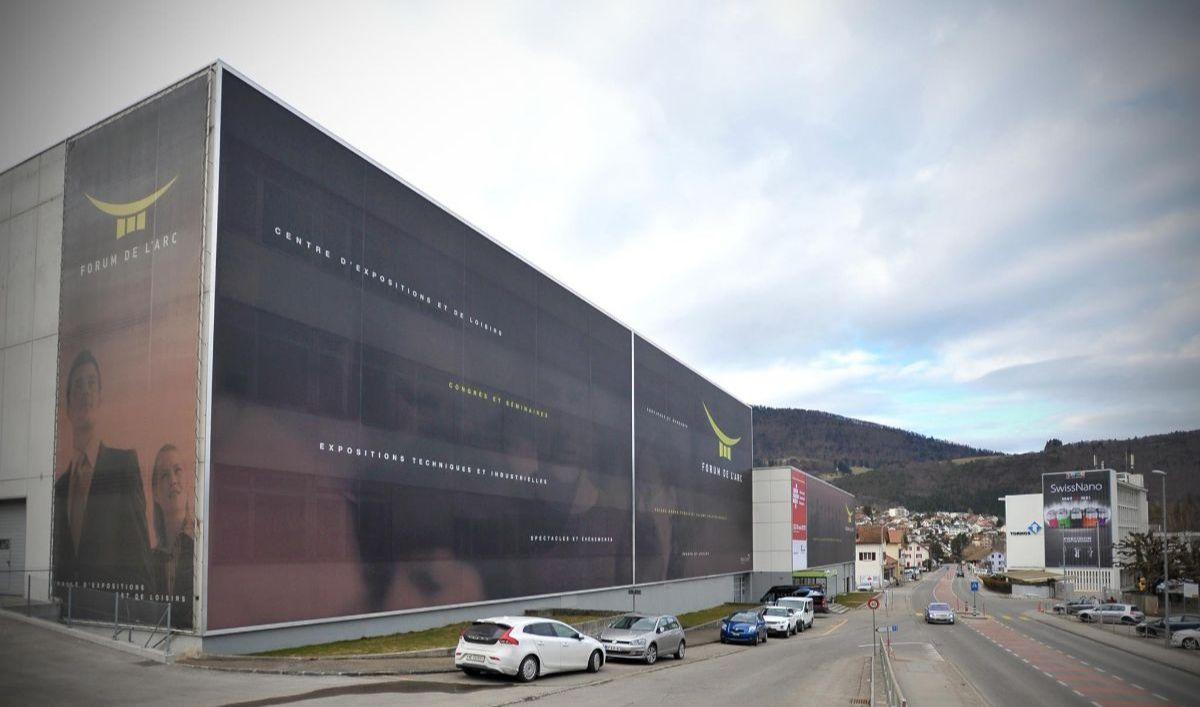 Moutier (Suisse) - Forum de l'Arc