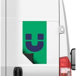 Publicités magnétiques pour voitures